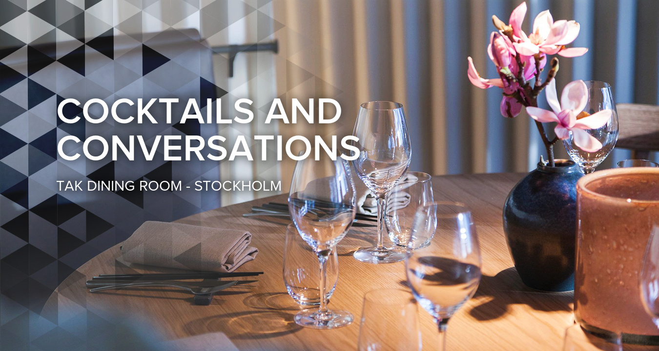 Cocktails and Conversations at TAK