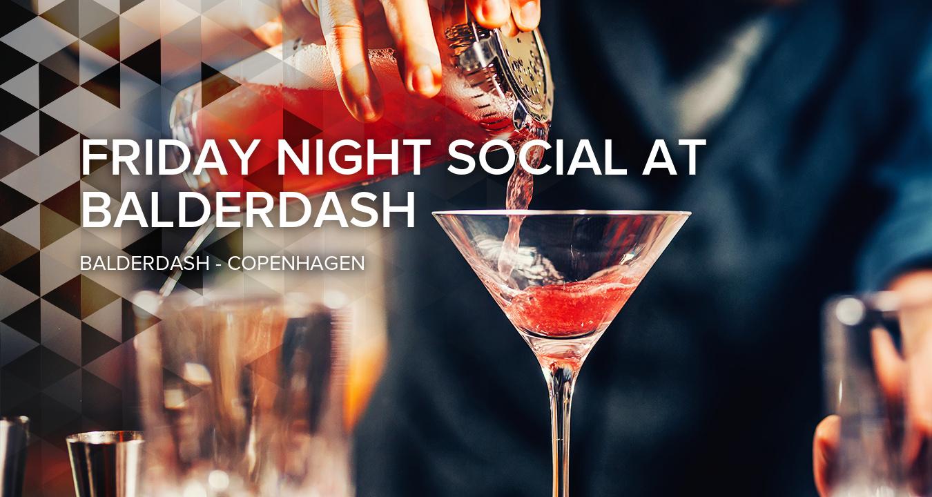 Friday Night Social at Balderdash