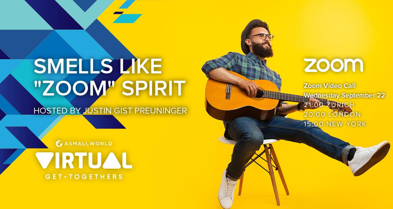 """Virtual Get-Together: Smells Like """"Zoom"""" Spirit"""