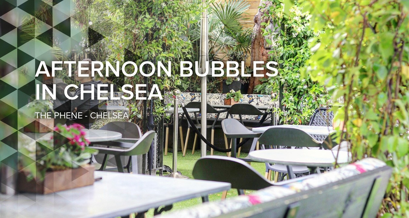 Afternoon Bubbles in Chelsea
